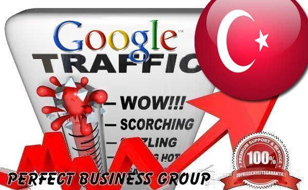 Organic traffic from Google.com.tr (Turkey) with your Keyword