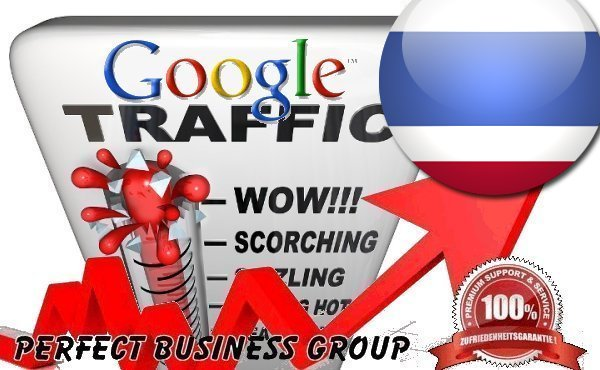 Organic traffic from Google.co.th (Thailand) with your Keyword