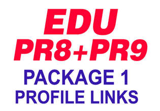 """will create """"15 POWERFUL"""" PR9 And PR8 Edu DoFollow Forum Profiles and Crawl Them Through My LinkLicious Account, Seo Site To Get High Serp Rankings"""