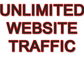 Get UNLIMITED genuine and real traffic to your website for one month