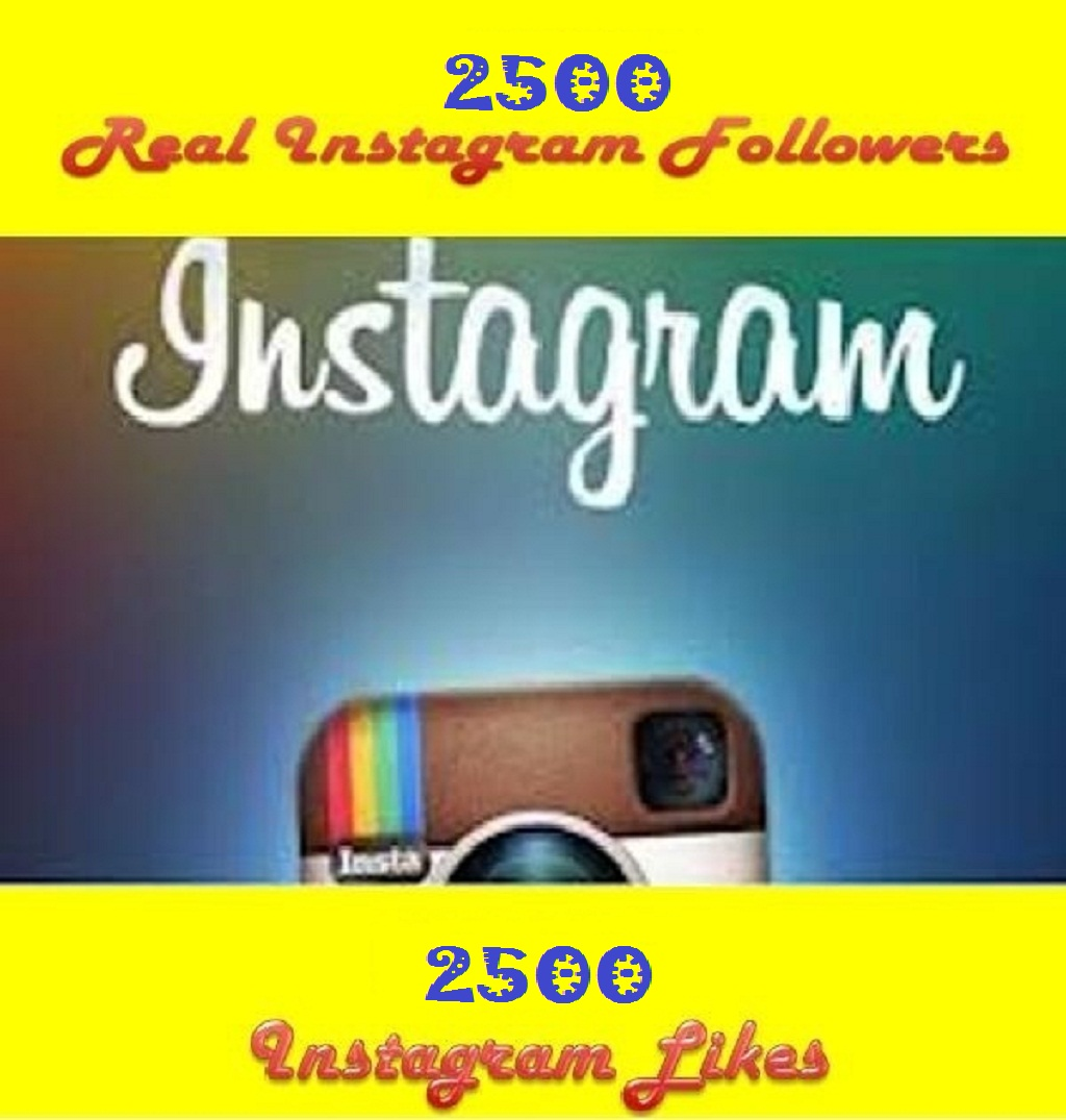 Provide 3000+ INSTAGRAM Follower OR Likes to your Instagram Account Without password