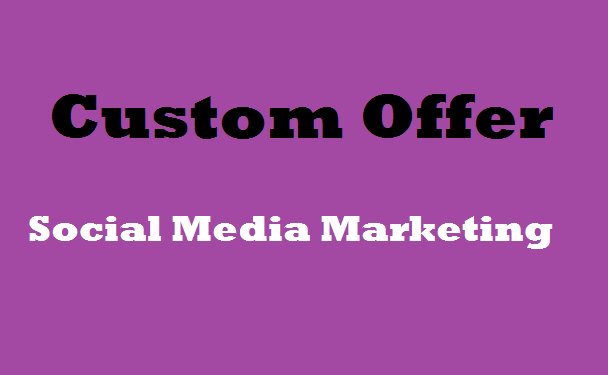 Custom Real Promotional Offer for All Seoclerks Clients