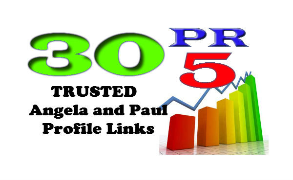 will boost your SERP using_ 30 PR5_ Angela and Paul do follow Backlinks and Pinging them for fast Index Result