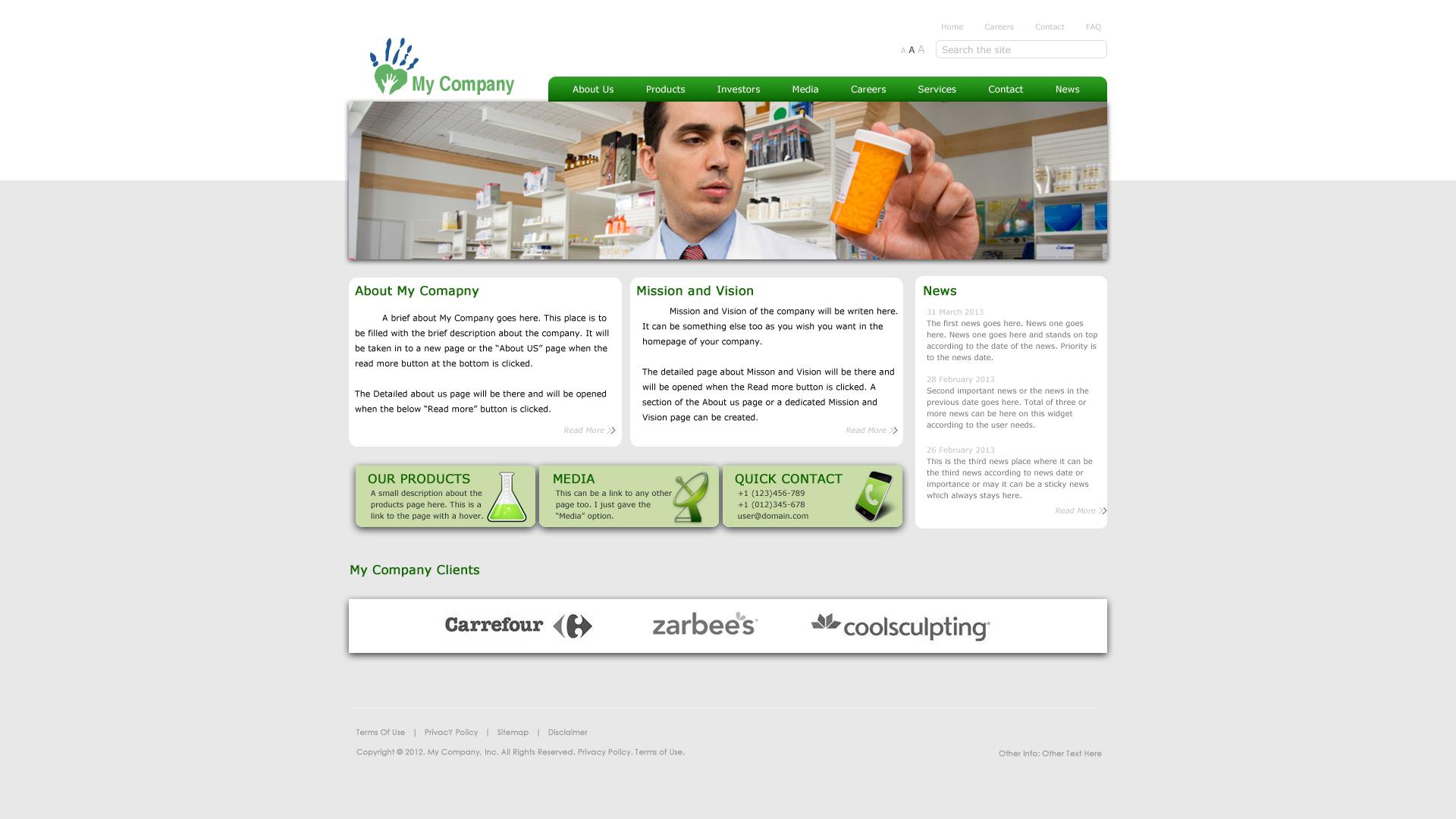 create a psd web design