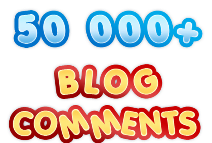 build MASSIVE 50 000 blog comments with full report and pinging @#@!