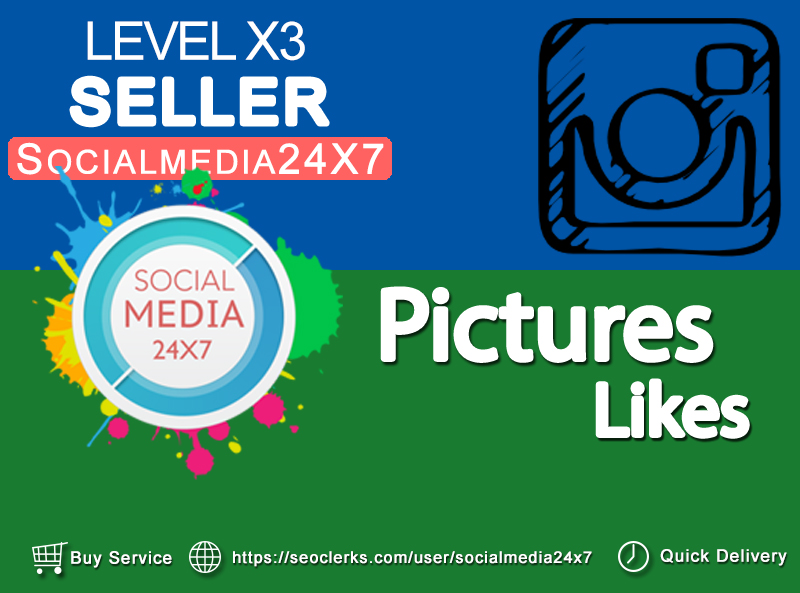 Get 10 - 3000 LIKES on your picture within few hrs