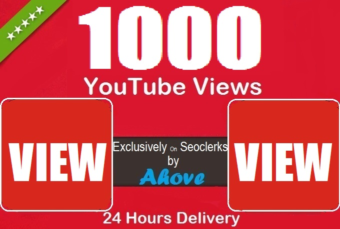 Get 1000 Views In Your Video Within 24 Hours