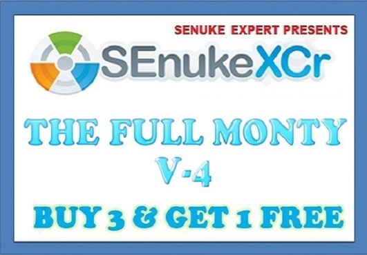 use SEnuke XCr with ✰ The Full Monty v4 ✰ template to create ✰ High Quality ✰ Do Follow ✰ Multi Tier ✰ Google Friendly ✰ Backlinks...
