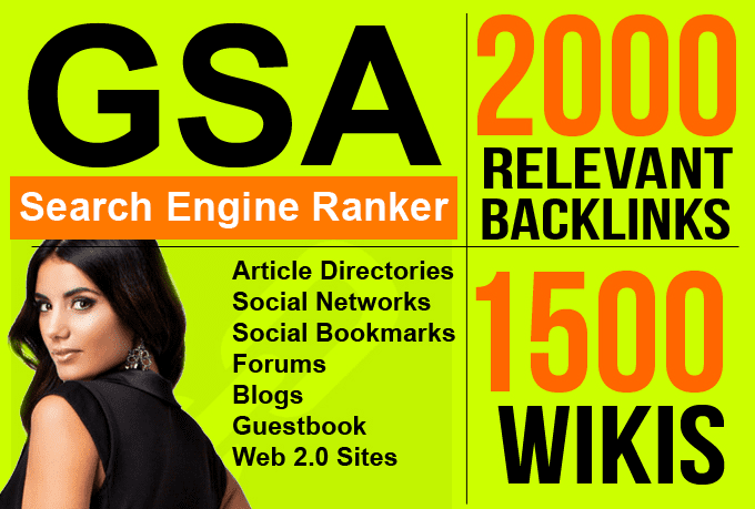 do GSA uniques pa da cf tf backlinks to sites youtube for yahoo bing seo