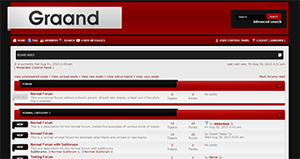 Graand - Premium phpBB3 Style