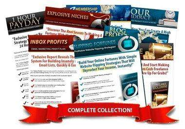 give you 20 professional squeeze pages and reports