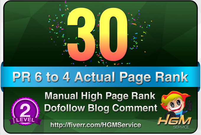 I will make 30 Manual DoFollow Blog Comment Actual Best Quality