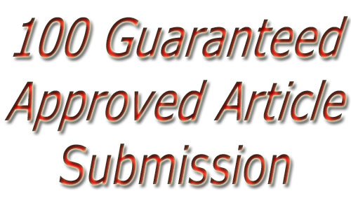 Write a 500 words article for your site and submit it to 1000 article directories