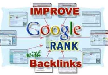 Manually create top Quality seo backlinks high PR