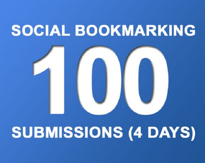 Provide 100 Social Bookmarks to your website or blog