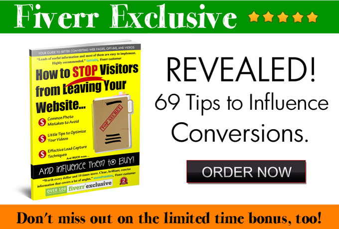 I will share my 69 tips you can use to improve website conversions