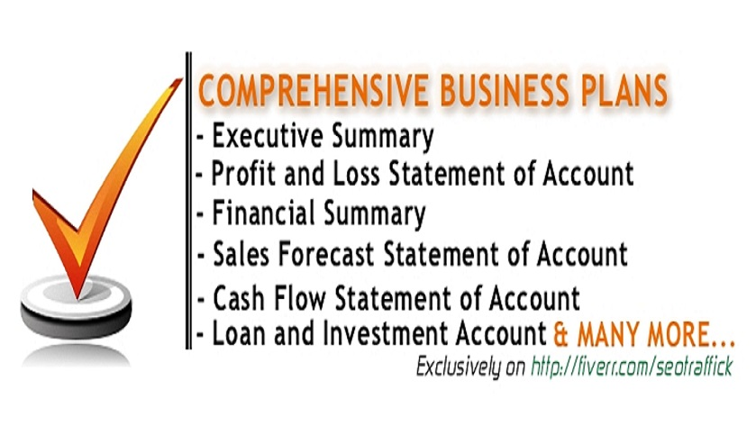 WRITE A DETAILED AND COMPREHENSIVE BUSINESS PLAN