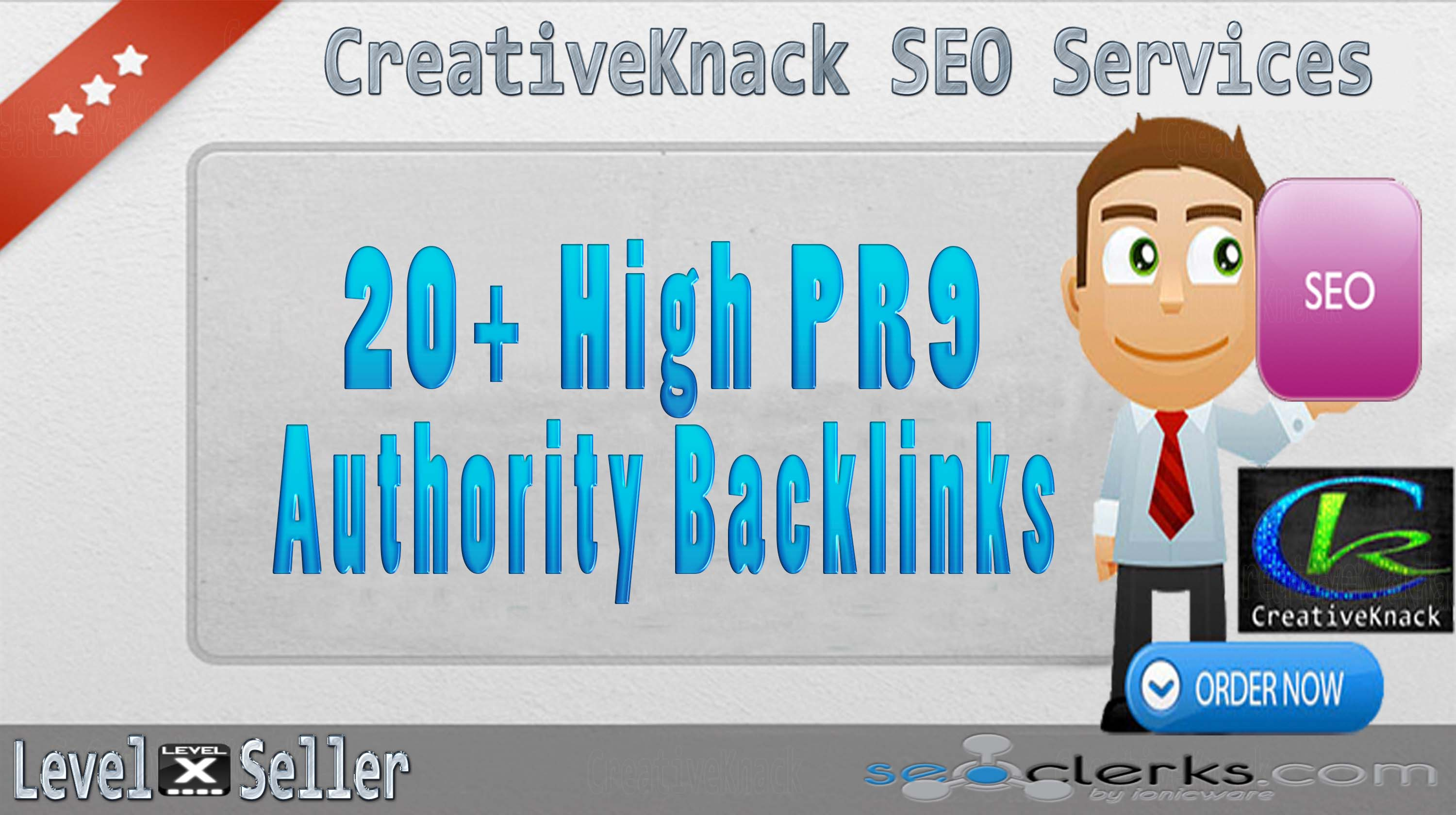 20+ PR9 High Authority Backlinks only