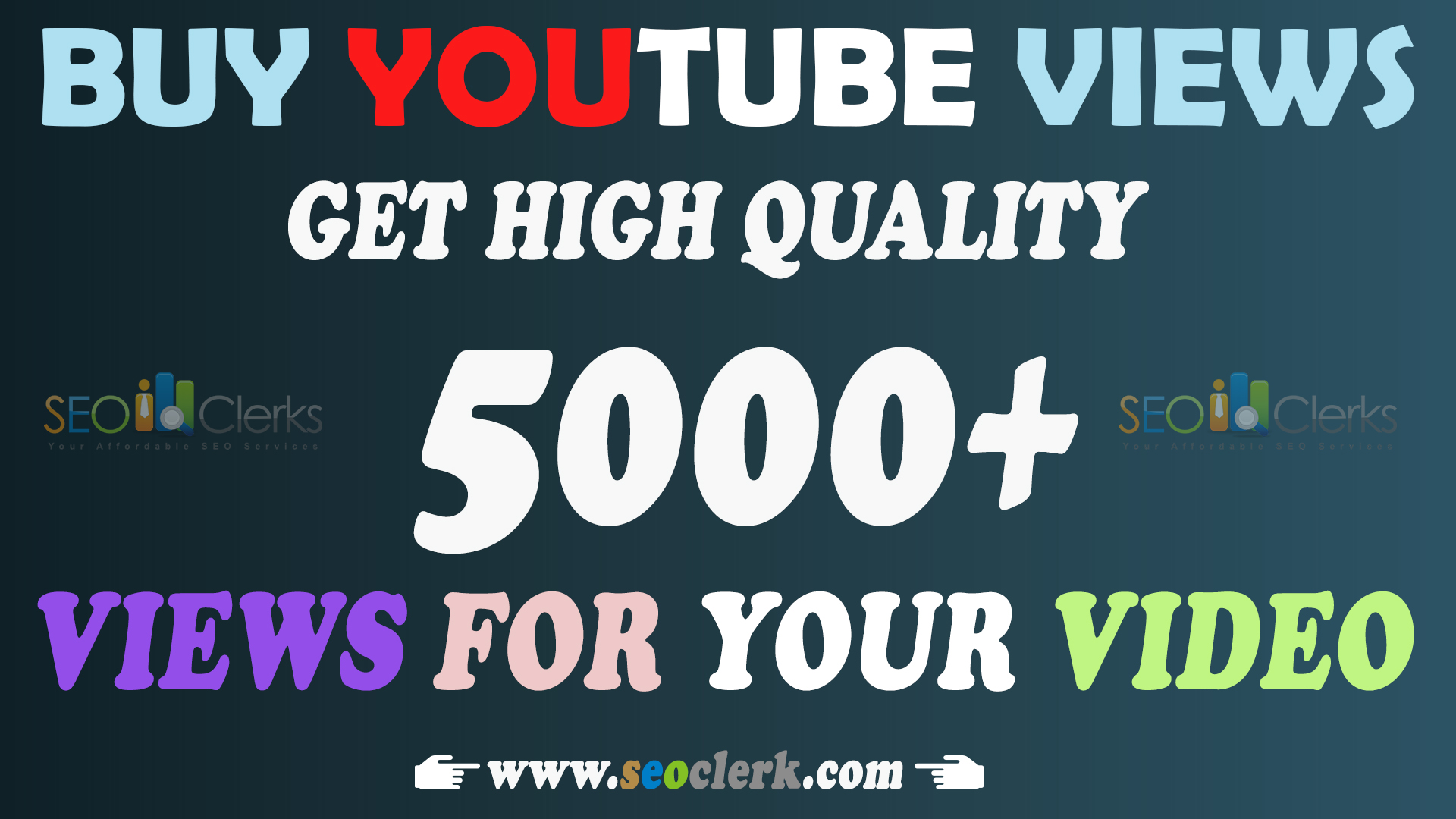 Let you 5000 HR (Lifetime Gurantee) uTube views with 20 likes