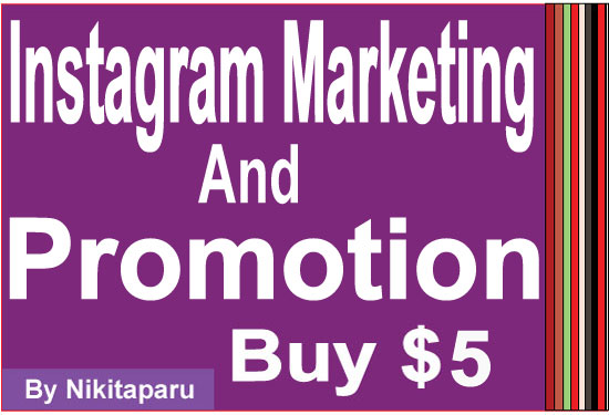 Instant IG promotion and marketing