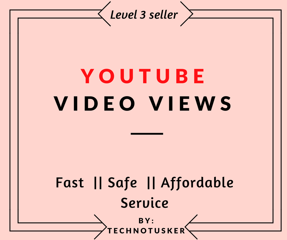 Give you 1000 +  video views very fast