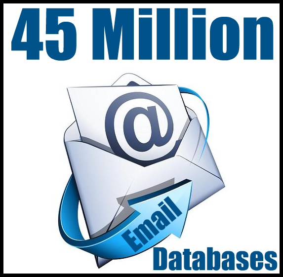 Give You 45 Million Fresh Emails Database of 2013 Year Gift