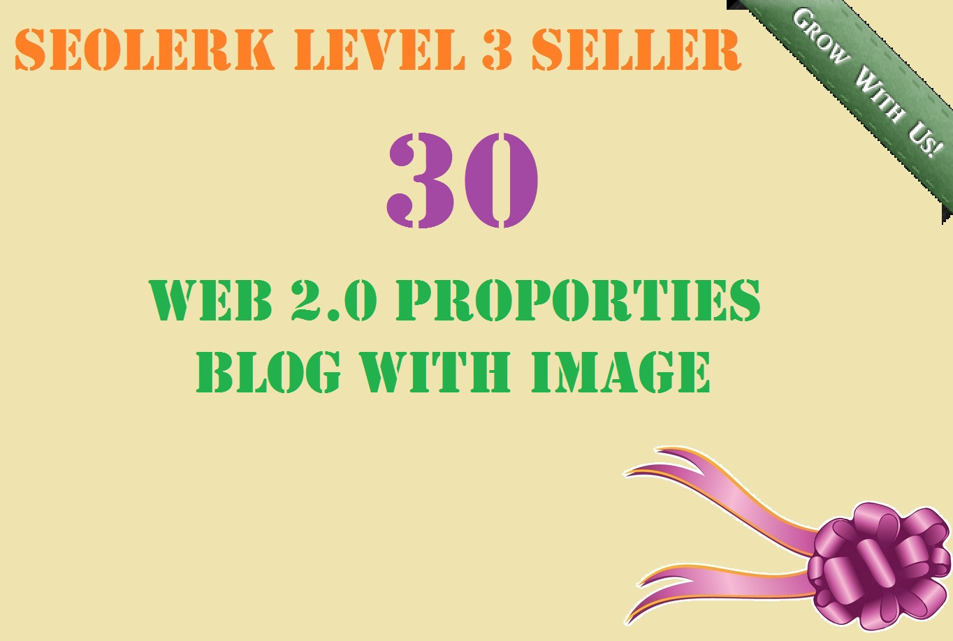 Build 30 High Quality Web2.0 Blogs with proper image and video