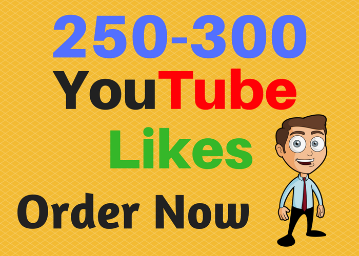 give you 250-300 YouTube Likes In 24 Hours