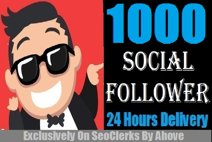Start Instant 1000 Followers