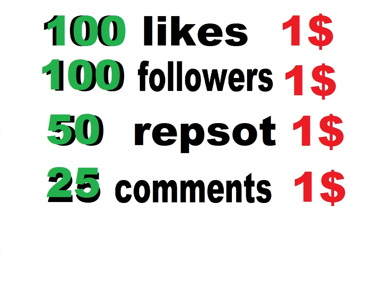 provide 100 soundcloud likes or followers or 25 comments or 100 repost  or 100 youtube likes