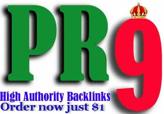 manually create 3xPR9 Backlinks