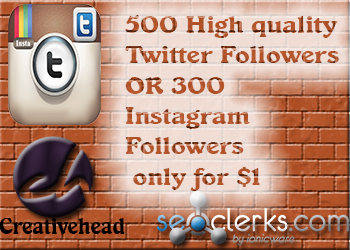 Will add High Quality 500 Twitter Followers,retweets,fav... for $1