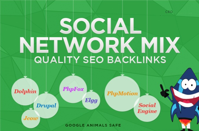i will give you 100 + Social Network Profile Backlinks