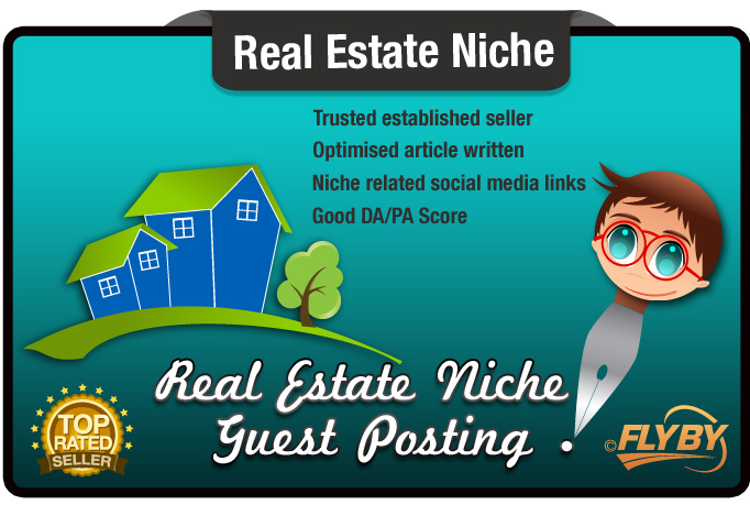 Write and Guest Post a Real Estate SEO optimized Article on a PR4 Site