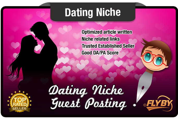 Write and Blog Post a DATING niche article with Dofollow Links 7 yr Old Site