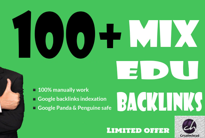 will do 100 .EDU high quality relevant SEO backlinks only