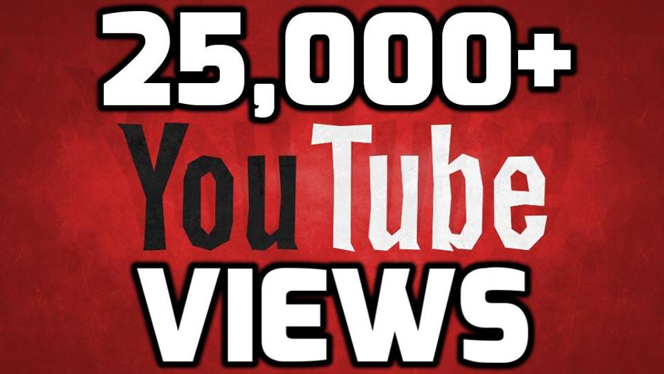 Provide 25,000-26,000 Safe YouTube Views few hours