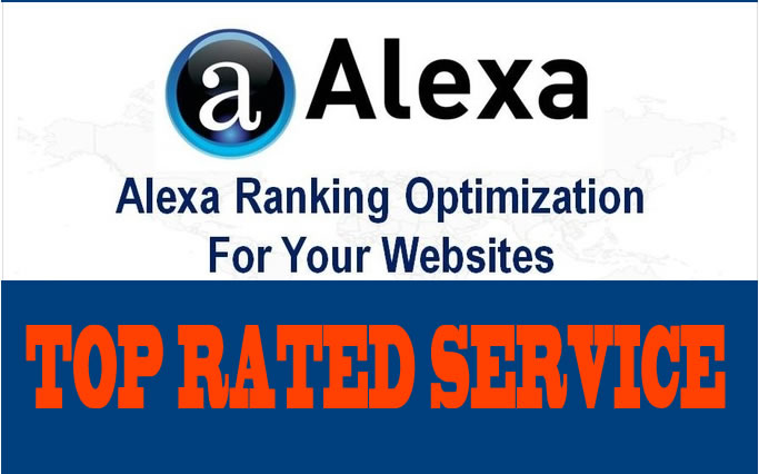l WILL increase your website ALEXA RANKING from 10 to 50 percent within 8 days f