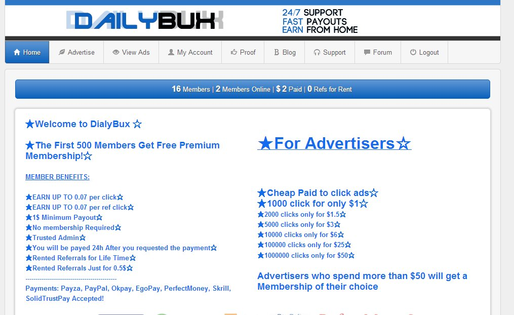 Post you Banner in My PTC Website