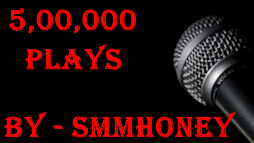 give u 500,000+ (500 k) sound cloud plays