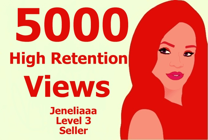 add Super Fast 5000 High Quality Traffic on your Video