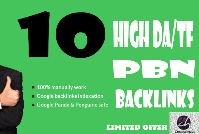10 PBN HQ Do-Follow Homepage DA15+ TF15+ Backlinks only