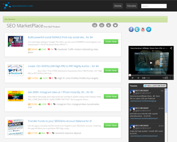 Powerful SEOClerks Affiliate Store - Fully Hosted