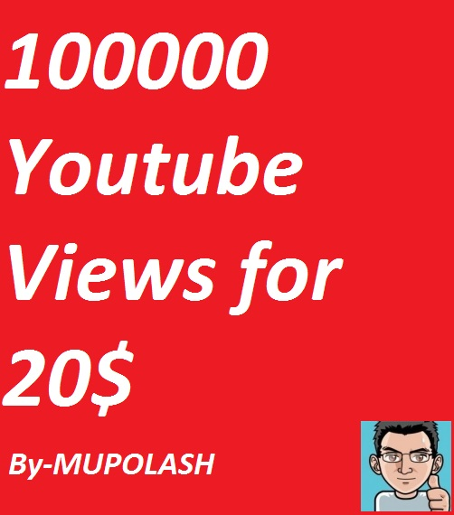 Faster 100000+ Youtube Views with in very Short time in cheep rates