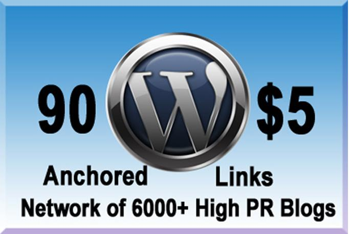 Boost Your Rankings with 90 Dofollow Contextual Links on 30 Blog PR1 to PR7 Blogs