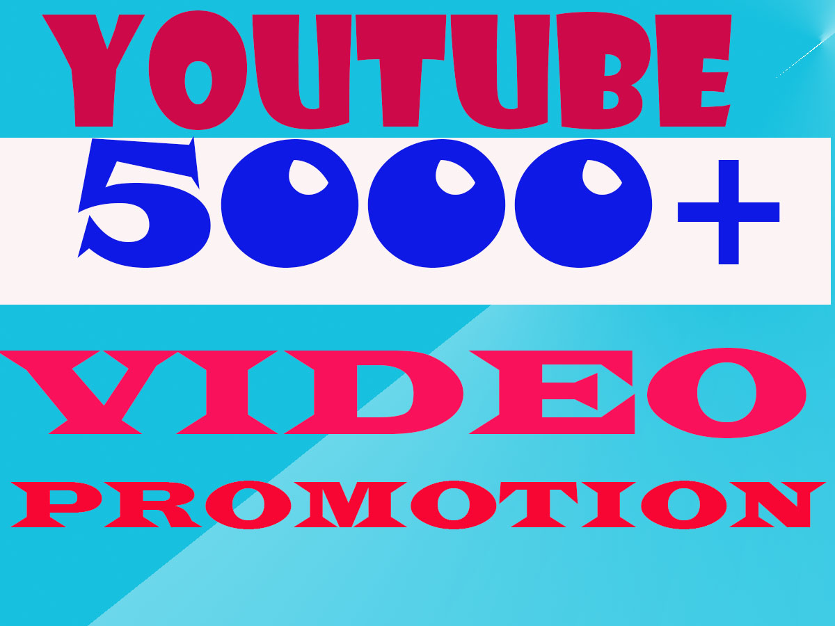 YouTube Video Promotion & Marketing In 2-3H