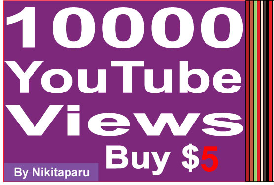 Super Fast 11000 YouTube High retention Views within 24 hours