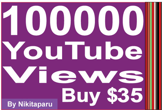 Add 100000+ YouTube Views