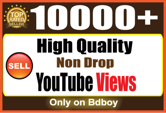 Instant Add 10,000 SUPER FAST YouTube Views
