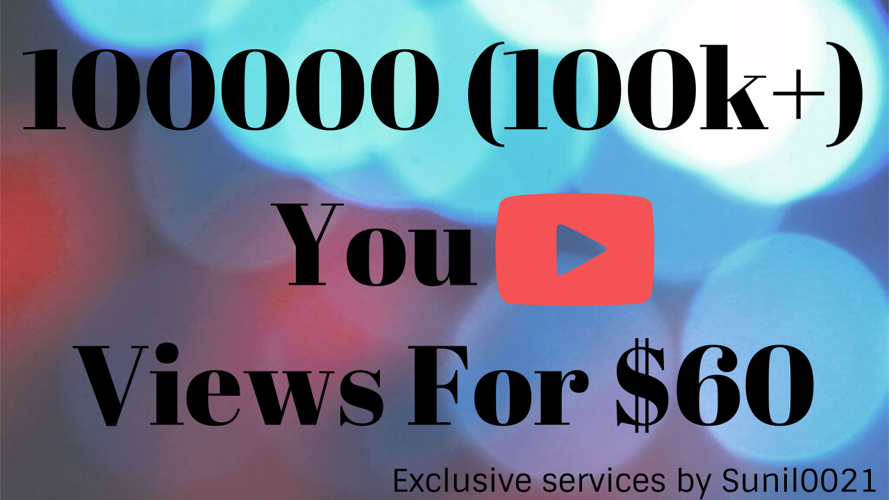 Instant 8000-9000 High Quality Youtube Vie ws